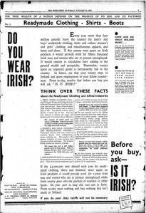 buy Irish ad 1932